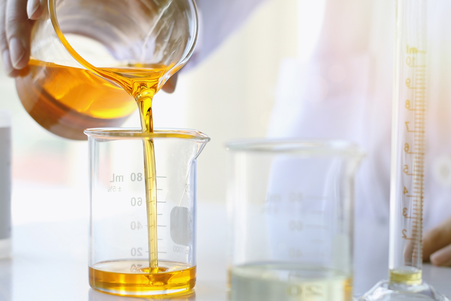Oil pouring, Equipment and science experiments, Formulating the